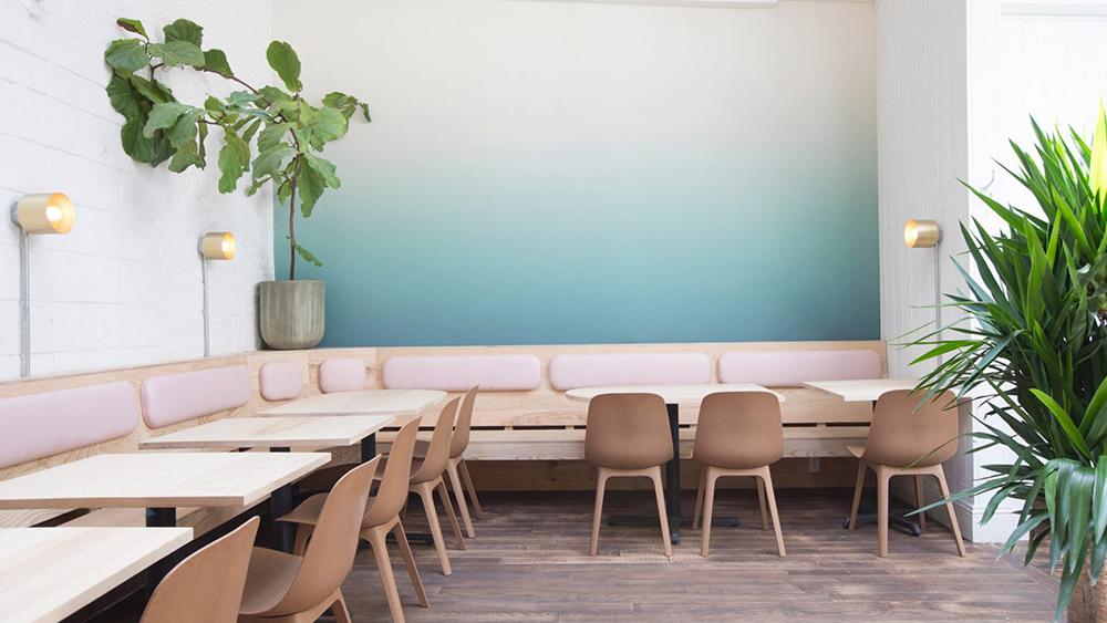 Nhà hàng Di An Di ở Newyork với không gian ngập tràn cây xanh và ánh sáng
